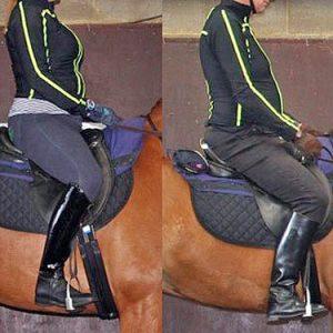 כיצד משפיע משקל הרוכב על הסוס?