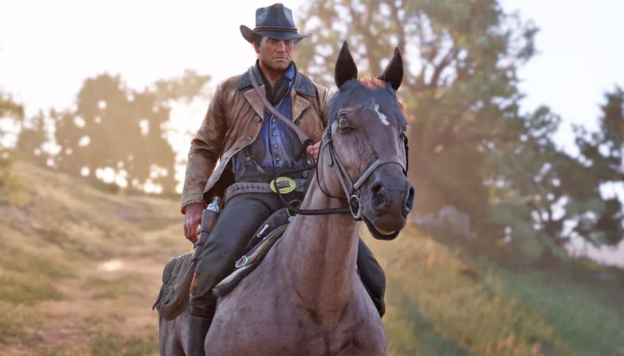 Red Dead Redemption 2 סוסים