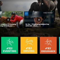 שידורי תחרויות סוסים בחינם ב-FEI TV