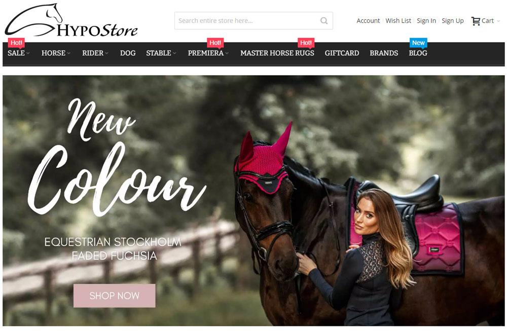 hypostore בגדי רכיבה על סוסים